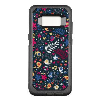 Coque Samsung Galaxy S8 Par OtterBox Commuter motif mignon d'oiseaux et de fleurs