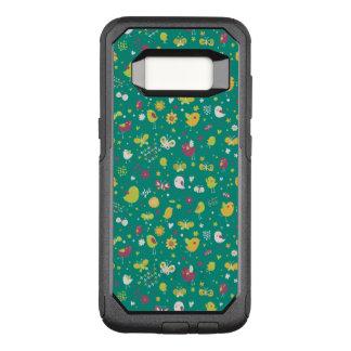 Coque Samsung Galaxy S8 Par OtterBox Commuter Motif mignon trois d'oiseau