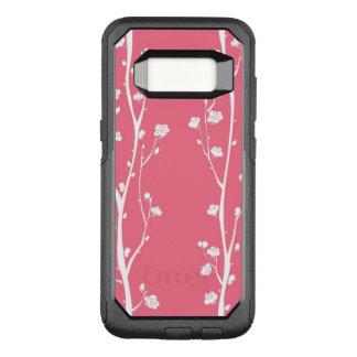 Coque Samsung Galaxy S8 Par OtterBox Commuter Motif oriental de fleur de prune
