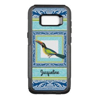 Coque Samsung Galaxy S8+ Par OtterBox Commuter Motif tropical d'oiseau de toucan de plage