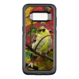 Coque Samsung Galaxy S8 Par OtterBox Commuter Oiseau de chardonneret dans le cas de la galaxie