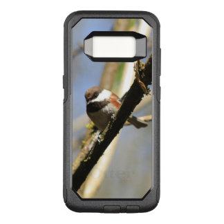 Coque Samsung Galaxy S8 Par OtterBox Commuter Oiseau mignon de Chickadee