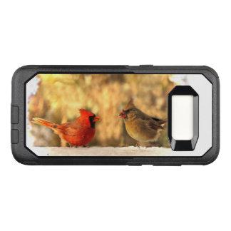 Coque Samsung Galaxy S8 Par OtterBox Commuter Oiseaux cardinaux dans le cas de la galaxie S8