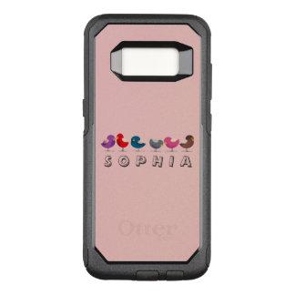 Coque Samsung Galaxy S8 Par OtterBox Commuter Oiseaux petit Sophia drôle mignon de bande