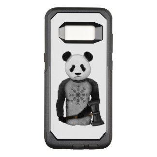 Coque Samsung Galaxy S8 Par OtterBox Commuter Ours panda tenant le marteau de Viking du Thor