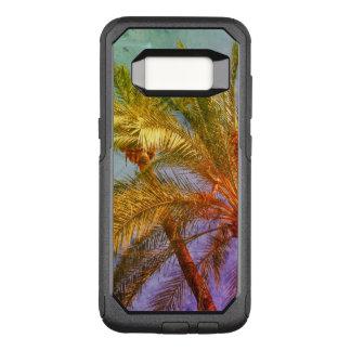 Coque Samsung Galaxy S8 Par OtterBox Commuter Palmettes tropicales vintages