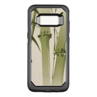 Coque Samsung Galaxy S8 Par OtterBox Commuter Peinture orientale de style, branches 2 de bambou