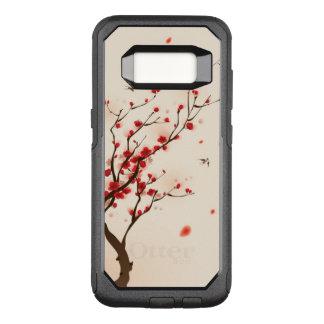 Coque Samsung Galaxy S8 Par OtterBox Commuter Peinture orientale de style, fleur au printemps 2