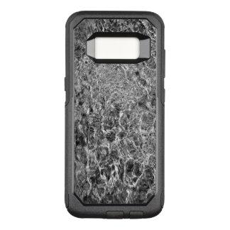 Coque Samsung Galaxy S8 Par OtterBox Commuter Photo d'eau de rivière, noire et blanche de
