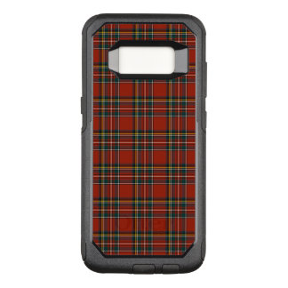 Coque Samsung Galaxy S8 Par OtterBox Commuter Plaid écossais classique royal rouge et bleu de