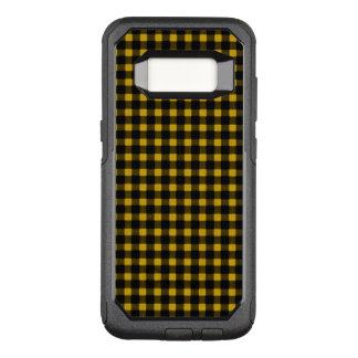 Coque Samsung Galaxy S8 Par OtterBox Commuter Plaid noir jaune de Buffalo d'hiver de bûcheron