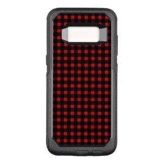 Coque Samsung Galaxy S8 Par OtterBox Commuter Plaid noir rouge de Buffalo d'hiver de bûcheron