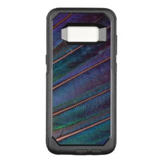 Coque Samsung Galaxy S8 Par OtterBox Commuter Plumes bleues de Turaco