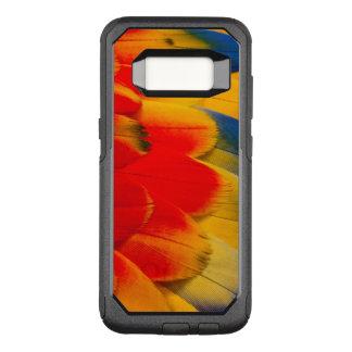 Coque Samsung Galaxy S8 Par OtterBox Commuter Plumes d'ara d'écarlate