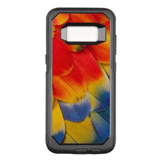 Coque Samsung Galaxy S8 Par OtterBox Commuter Plumes de couvert d'ara d'écarlate