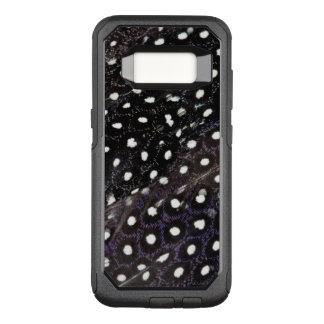 Coque Samsung Galaxy S8 Par OtterBox Commuter Plumes de Guineafowl repérées par noir