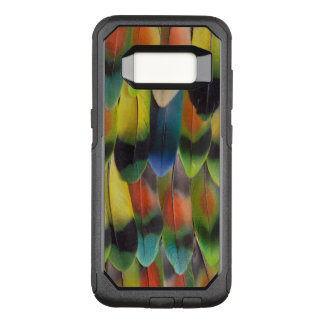 Coque Samsung Galaxy S8 Par OtterBox Commuter Plumes de queue colorées de perruche