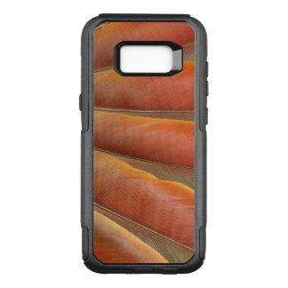 Coque Samsung Galaxy S8+ Par OtterBox Commuter Plumes Rouge-Oranges d'ara d'écarlate