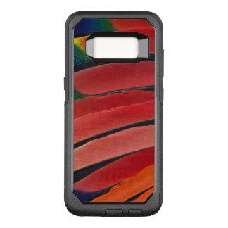 Coque Samsung Galaxy S8 Par OtterBox Commuter Plumes rouges de perroquet d'Amazone