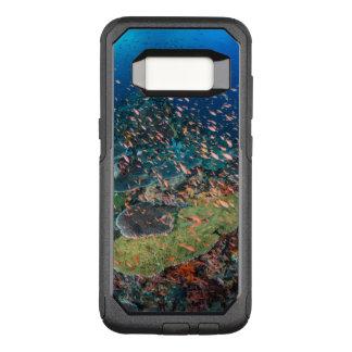 Coque Samsung Galaxy S8 Par OtterBox Commuter Poissons nageant au-dessus du récif