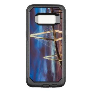 Coque Samsung Galaxy S8 Par OtterBox Commuter Pont d'Arthur Ravenel la nuit