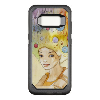 Coque Samsung Galaxy S8 Par OtterBox Commuter Portrait abstrait