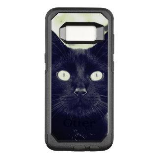 Coque Samsung Galaxy S8 Par OtterBox Commuter Portrait mignon de chat noir