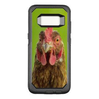 Coque Samsung Galaxy S8 Par OtterBox Commuter Poulet drôle sur un arrière - plan vert