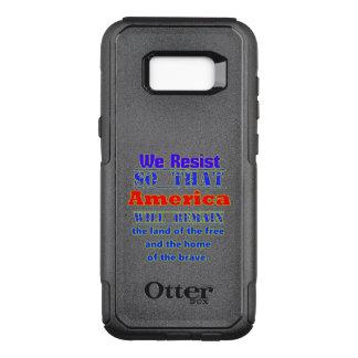 Coque Samsung Galaxy S8+ Par OtterBox Commuter Pourquoi nous résistons. Pour Amerca
