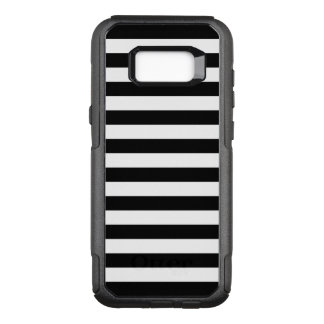 Coque Samsung Galaxy S8+ Par OtterBox Commuter Rayures horizontales noires