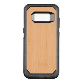 Coque Samsung Galaxy S8 Par OtterBox Commuter Regard du bois en bambou de grain de pêche