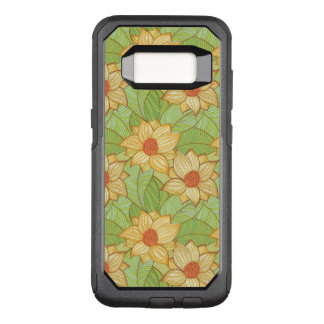 Coque Samsung Galaxy S8 Par OtterBox Commuter Rétro motif de magnolia