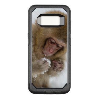 Coque Samsung Galaxy S8 Par OtterBox Commuter Singe japonais de neige du Macaque | de bébé