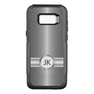 Coque Samsung Galaxy S8+ Par OtterBox Commuter Style du monogramme des hommes
