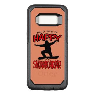 Coque Samsung Galaxy S8 Par OtterBox Commuter SURFEUR heureux (noir)