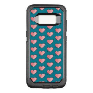 Coque Samsung Galaxy S8 Par OtterBox Commuter Turquoise mignonne rose Girly de bande dessinée de