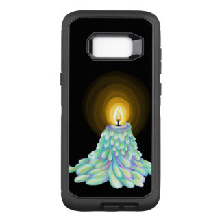 Coque Samsung Galaxy S8+ Par OtterBox Defender Art de fonte coloré de bougie en vertu de mode