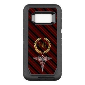 Coque Samsung Galaxy S8 Par OtterBox Defender Initiales faites sur commande de symbole médical