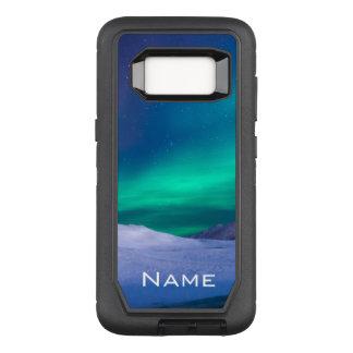 Coque Samsung Galaxy S8 Par OtterBox Defender L'aurore nommée personnalisable Borealis