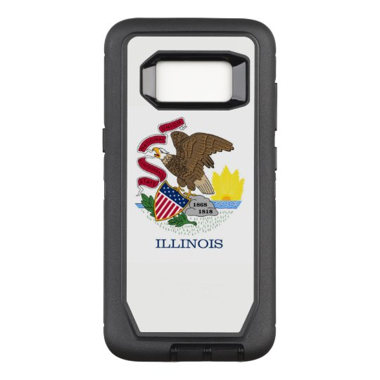 Coque Samsung Galaxy S8 Par OtterBox Defender L'Illinois