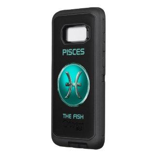 Coque Samsung Galaxy S8+ Par OtterBox Defender Poissons - le signe d'horoscope de poissons