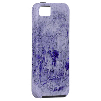 Coque Tough iPhone 5 Chasse vintage