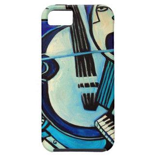 Coque Tough iPhone 5 Coup bleu