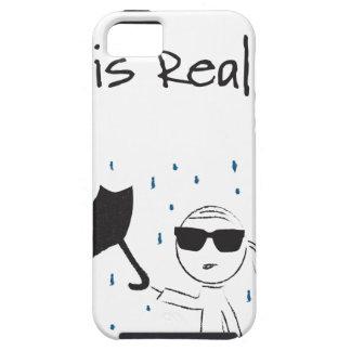 Coque Tough iPhone 5 La lutte d'échouer de parapluie est vraie