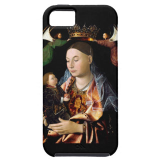 Coque Tough iPhone 5 Salaison de Madonna et de l'enfant du Christ