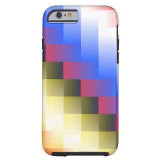Coque Tough iPhone 6 Abstraction de couleur