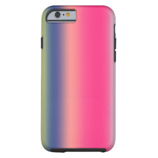Coque Tough iPhone 6 Abstraction de domaine de la couleur