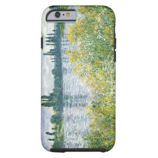 Coque Tough iPhone 6 Banques de Claude Monet | de la Seine, Vetheuil,