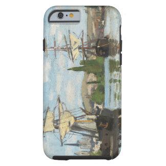 Coque Tough iPhone 6 Bateaux de Claude Monet | montant sur la Seine à
