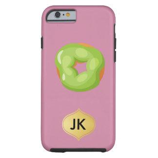 Coque Tough iPhone 6 Beignet de arrosage de bouche par espièglerie